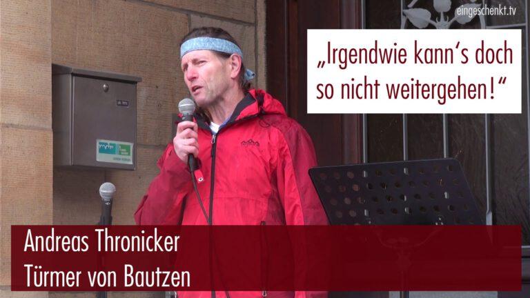 Andreas Thronicker – Türmer von Bautzen am 22.11.2015