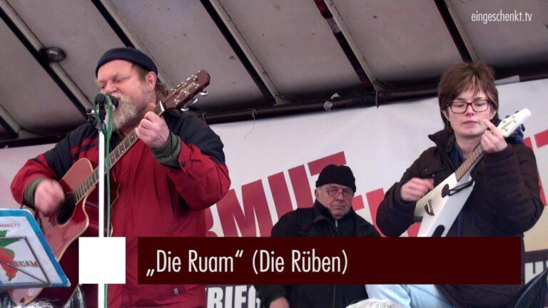 Die Ruam (Die Rüben) | #AntiSIKO 2016