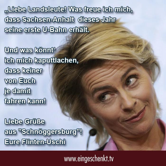 Schnöggersburg - Ursula von der Leyen