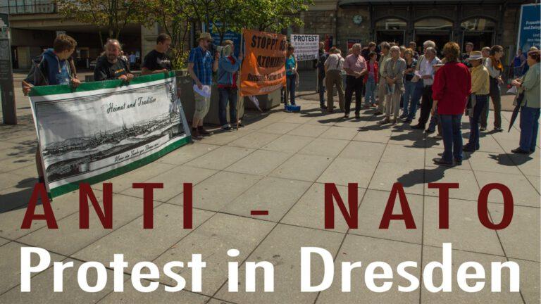 """""""BüSo"""" sagt """"Nein"""" zur NATO – Dresden 18.06.2016"""