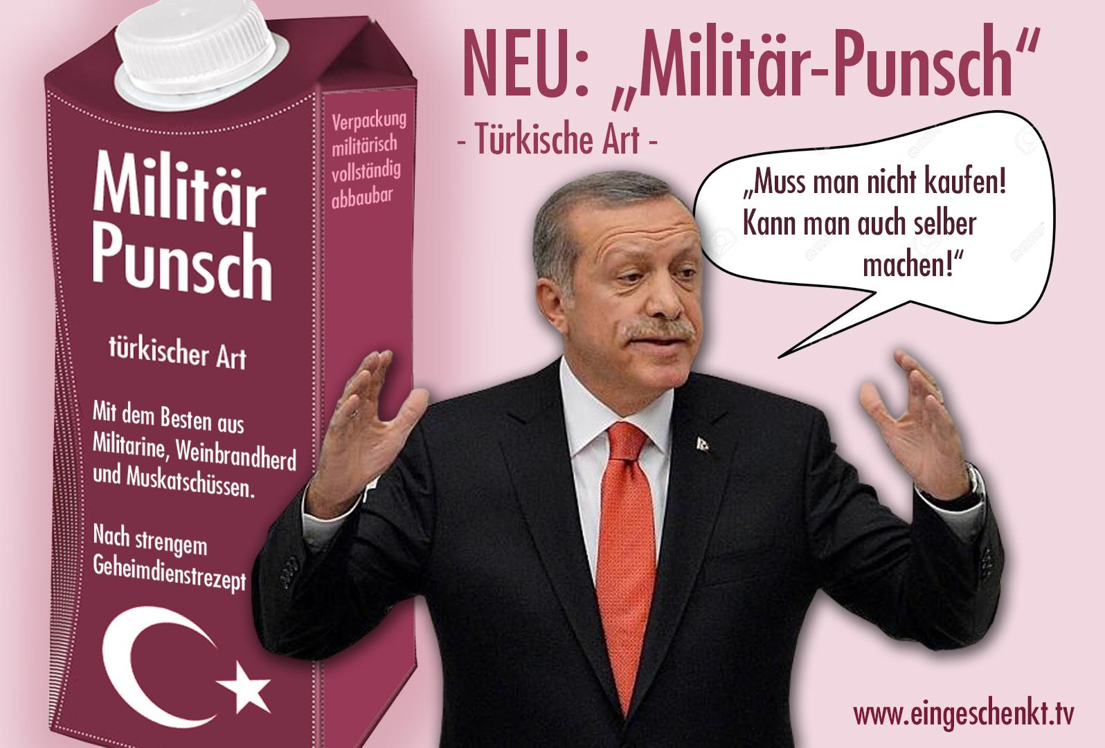 Militär-Punsch (türkischer Art)