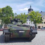 Marienberger Soldaten zu Einsatz in Litauen verabschiedet
