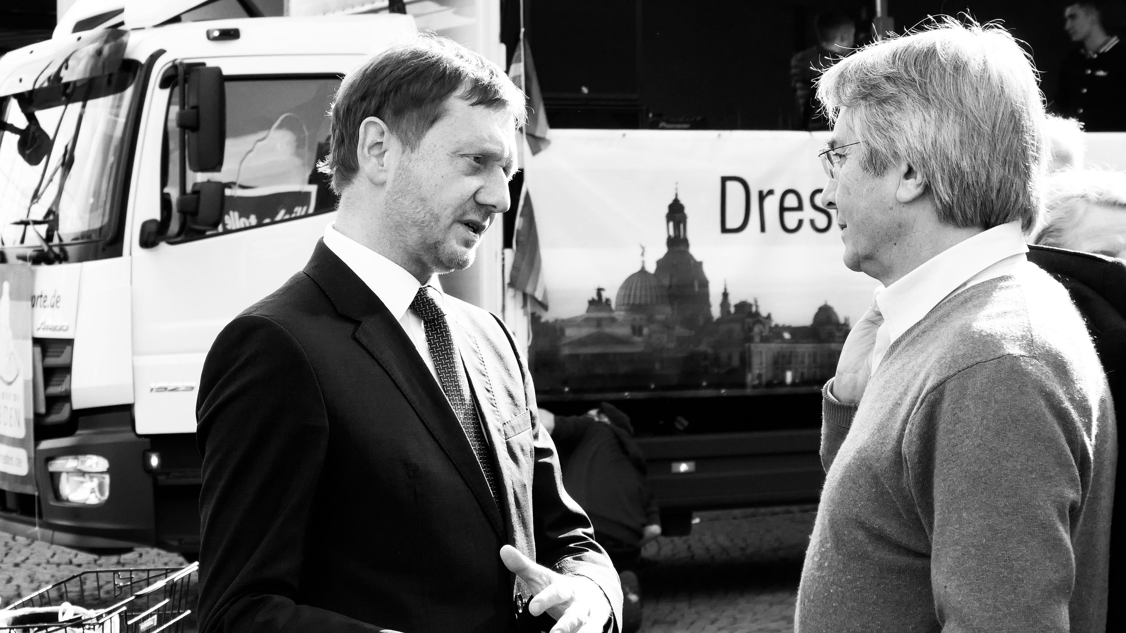 Michael Kretschmer Sächsischer Ministerpräsident
