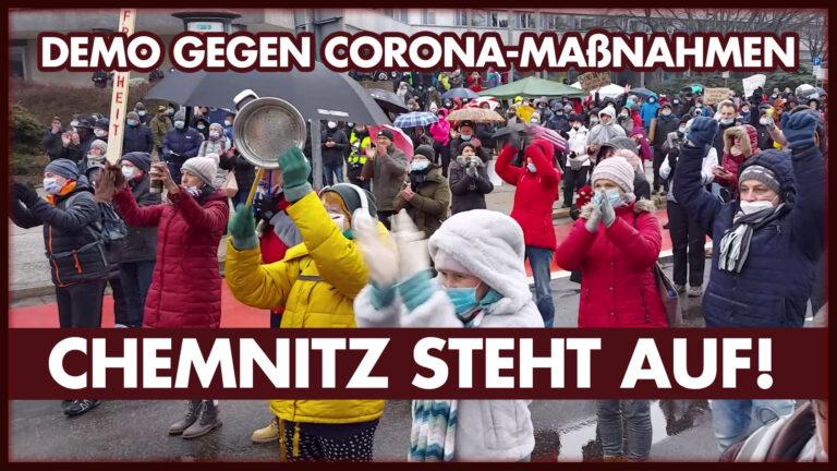 Chemnitz steht auf! Corona war gestern!